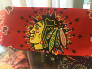 Bandana, Sports Blackhawks Chicago on Red FREE SHIPPING