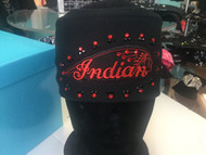 Bandana, Indian Black on Black FREE SHIPPING