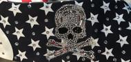Bandana, American Flag Skull Bling Bling FREE SHIPPING