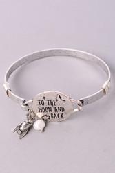 Bracelet, To The Moon & Back