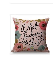 Pillow Cover, What Fuckery is This