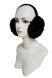 Muffs, Muff Ear ASSORTED COLORS, Grey, White, Black