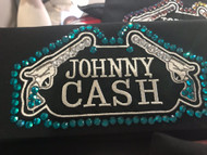 Bandana, Cash Johnny Ocean Blue FREE SHIPPING