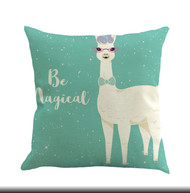 Pillow Cover, Lama Magical