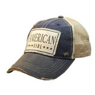 Cap, Baseball American Girl Black