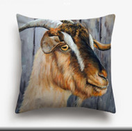 Pillow Cover, Goat Browns