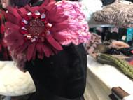 Headband, Knit Wine Pink