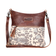 Purse, Canvas Leather Rug Shoulder Bag Naive