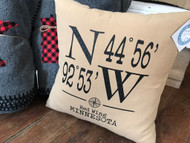 Pillow, Red Wing Coordinates