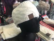 Headband, CC Lined Ivory