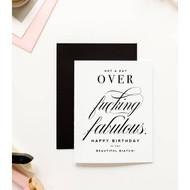 Card, Birthday Fucking Fabulous