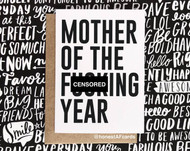 Card,  Mother of The Fucking Year, Mother's Day FREE SHIPPING