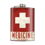 Flask, Medicine Red Cross