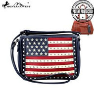 Purse, American Flag Navy Conceal & Carry