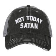 Cap, Baseball Not Today Satan