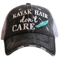 Cap, Kayak Hair Dont Care Teal