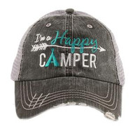 Cap, Baseball I'm A Happy Camper Arrow Teepee