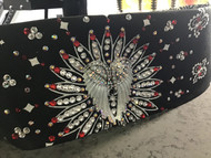 Bandana, Angel Wing w/Red FREE SHIPPING