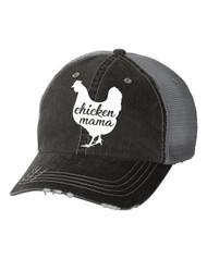 Cap, Baseball Chicken Mama