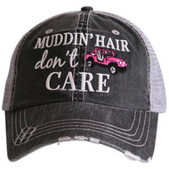 Cap, Baseball Muddin Hair Dont Care Pink