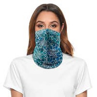 Mask, Face Neck Stretchy Pull-up Blues