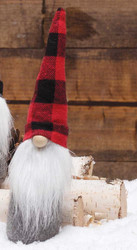 Gnome, Buffalo Plaid Red Hat 11""
