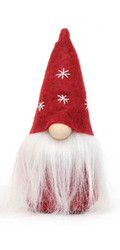 "Gnome, Mini 5"" Red StarSHat w/ Hanger"