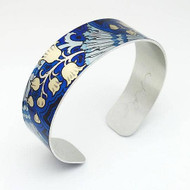 Bracelet, Cuff Aluminum Lily of Valley Museum Style