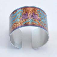 Bracelet, Cuff Aluminum Grasset Crown Imperial Museum Quality