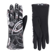 Gloves, Artsy Black Berry