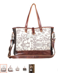 Purse, Weekender Camo leather