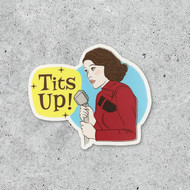 Sticker, Mrs. Maisel Tits Up