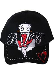 Cap, Baseball Betty Boop