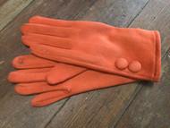 Gloves, Suede Like Burnt Orange