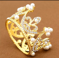 Crown, Tiara Golden Small