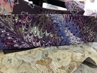 Bandana, Purples Swirl Handmade Original FREE SHIPPING