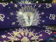 Bandana, Angel Wing Purple FREE SHIPPING