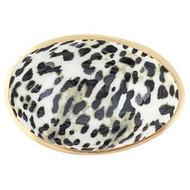 Bowl, Trinket Enamel Leopard
