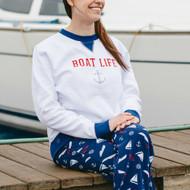 Sweatshirt, Nautical Boat Life