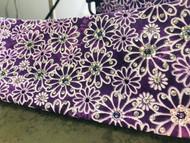 Bandana, Purple Floral Handmade Original FREE SHIPPING
