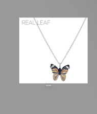 Necklace, Butterfly Monarch