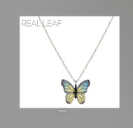 Necklace, Butterfly Blues