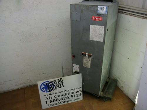 Used 3 Ton Air Handler Unit BRYANT Model FA4ANF036 1P