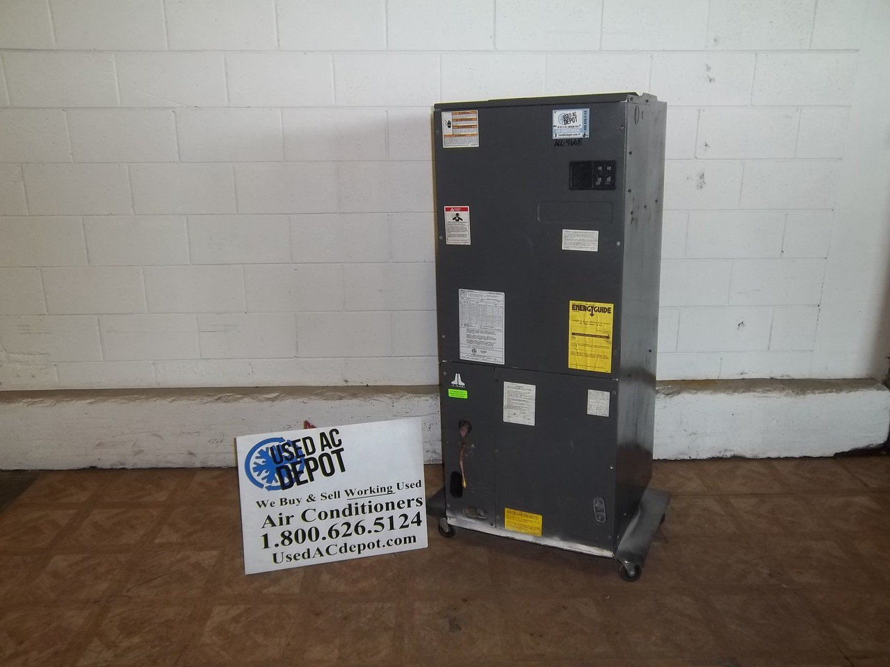 Used Ac Depot Refurbished Certified Air Handler Goodman