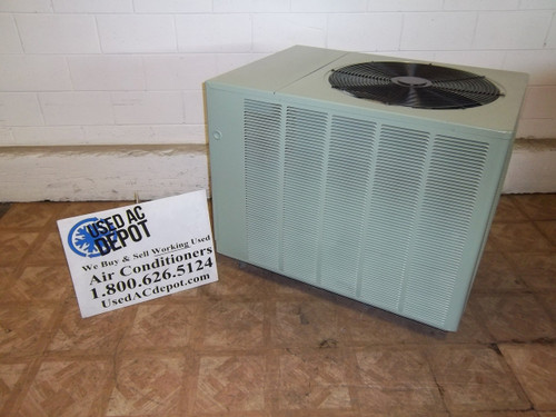 Used 4 Ton Condenser Unit RUUD Model UPNE-048JAZ 1Y