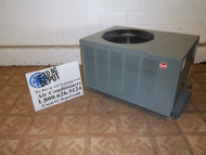 Used 3 Ton Condenser Unit RHEEM Model RPLB-036JAZ 2A