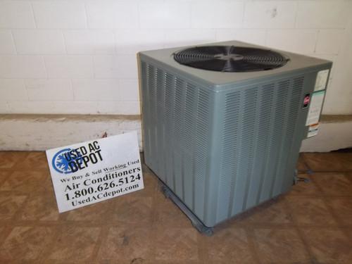 Used 3 Ton Condenser Unit RHEEM Model 15PJL36A01 2D