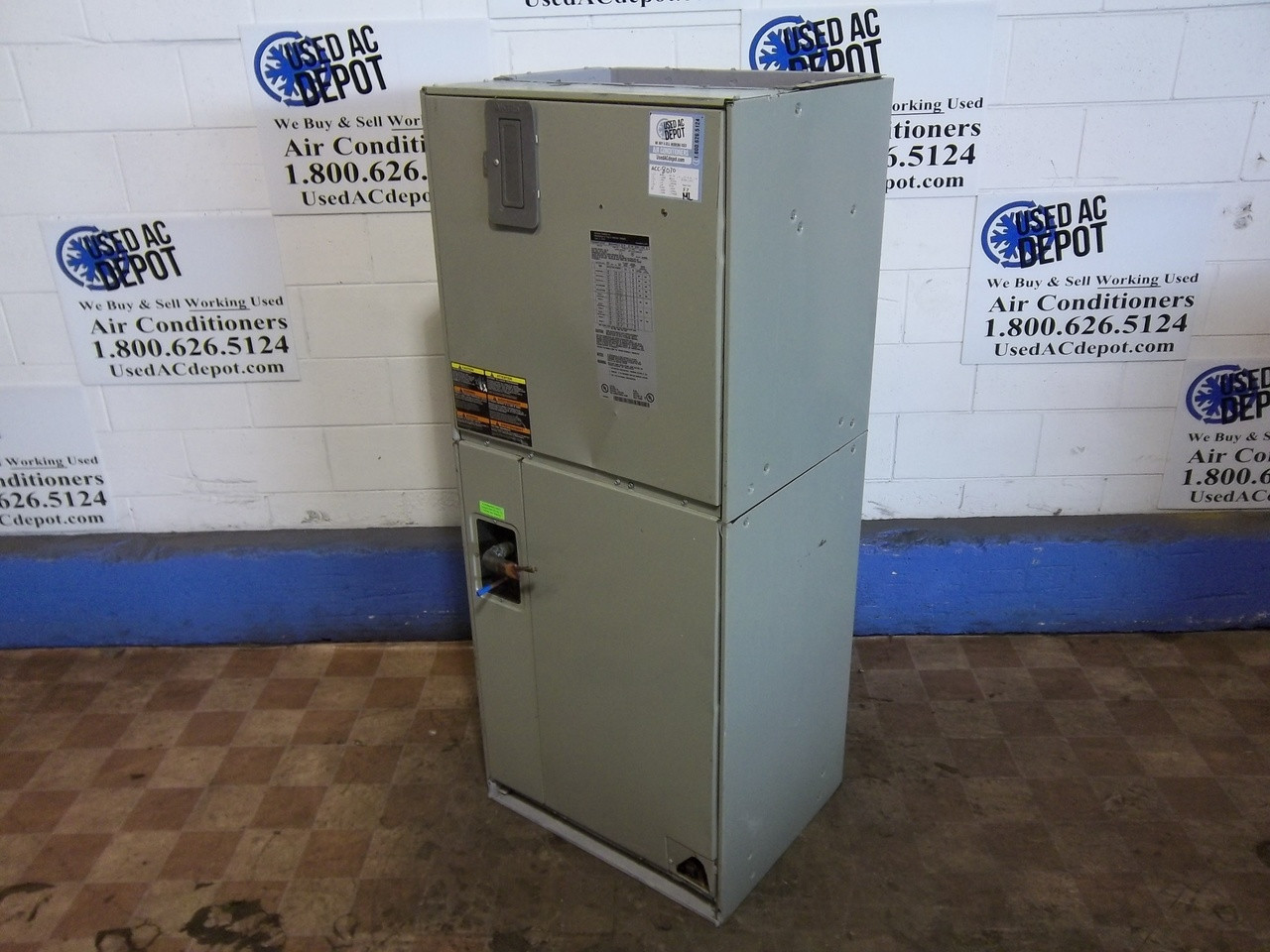TRANE Used Central Air Conditioner Air Handler TWE065E13FB2 ACC-8030