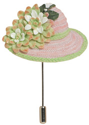 Class A Hat Pin - Harriet Rosebud