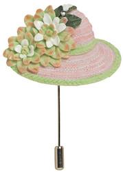 Class A Hat Pin - Harriet Rosebud